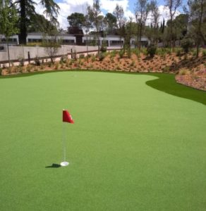 Instalador de campo de golf