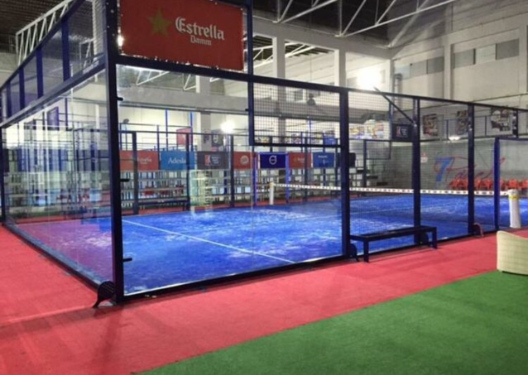 CONSTRUCCION PISTA DE PADEL INDOOR