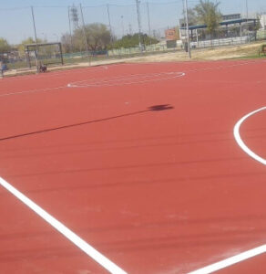 construccion campo futbol sala españa