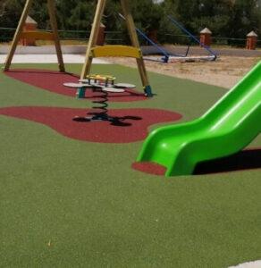 construccion parque infantil