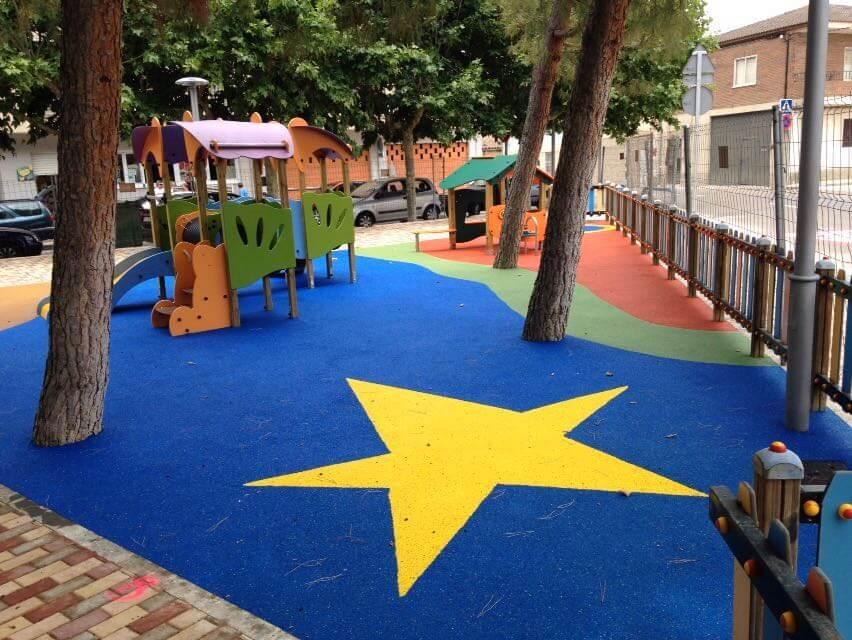 rehabilitar patio de colegio