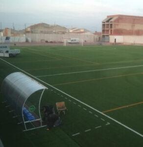 instalador campo de futbol